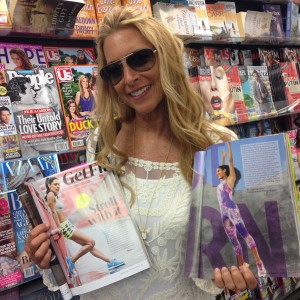 Mama Walk With Her September Copies Of Fitness and Shape Magazine!