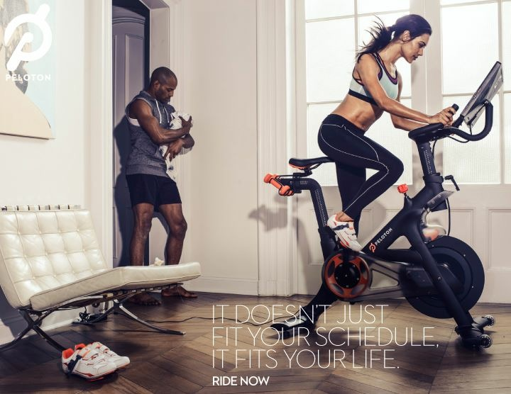 Home Fitness Junkie-Peloton Cycle - Taylor Walker Fit