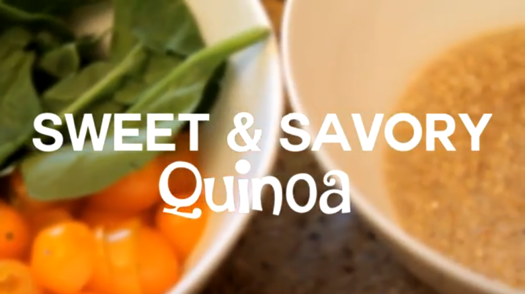 Beat The Gym-Sweet and Savory Quinoa