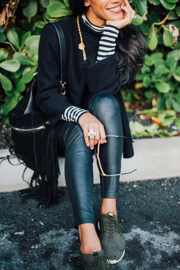 Leather and Leggings