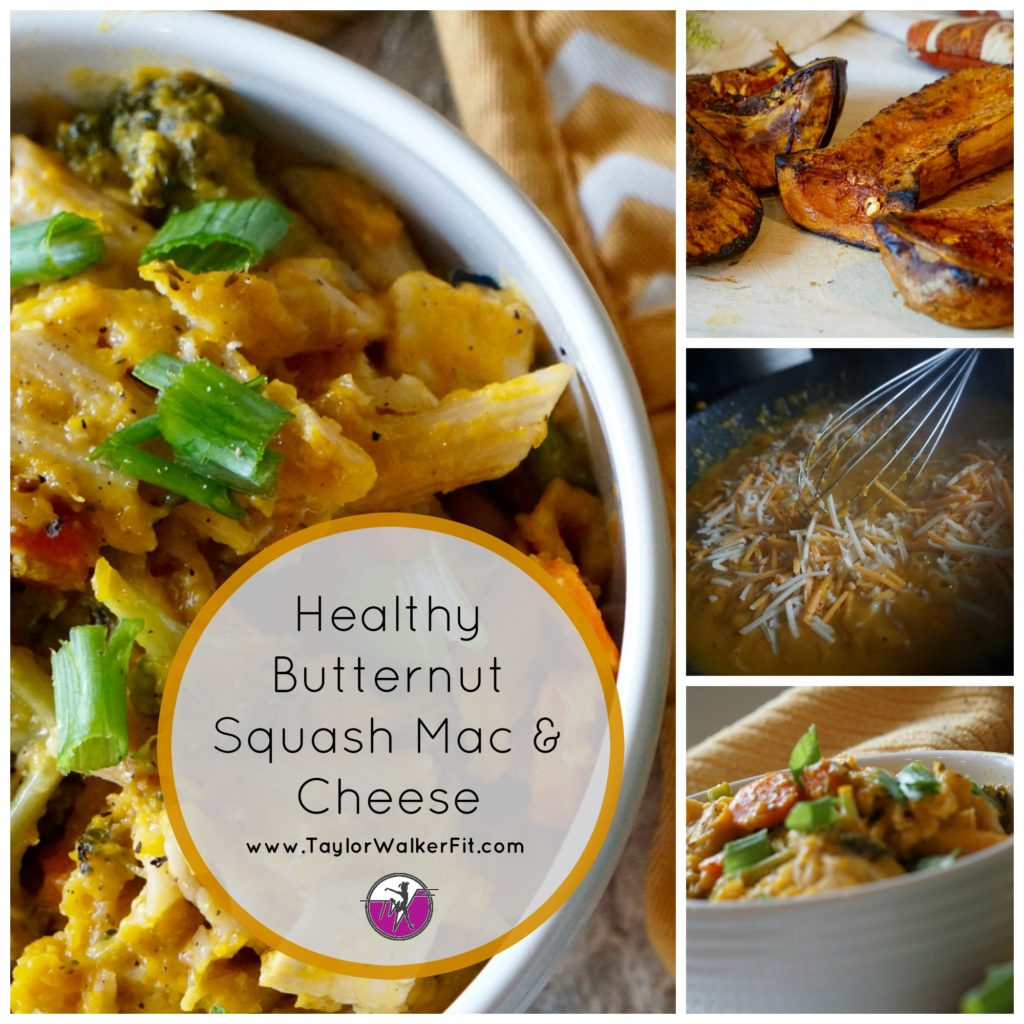 Healthy Butternut Squash Mac and Cheese-TaylorWalkerFit.com