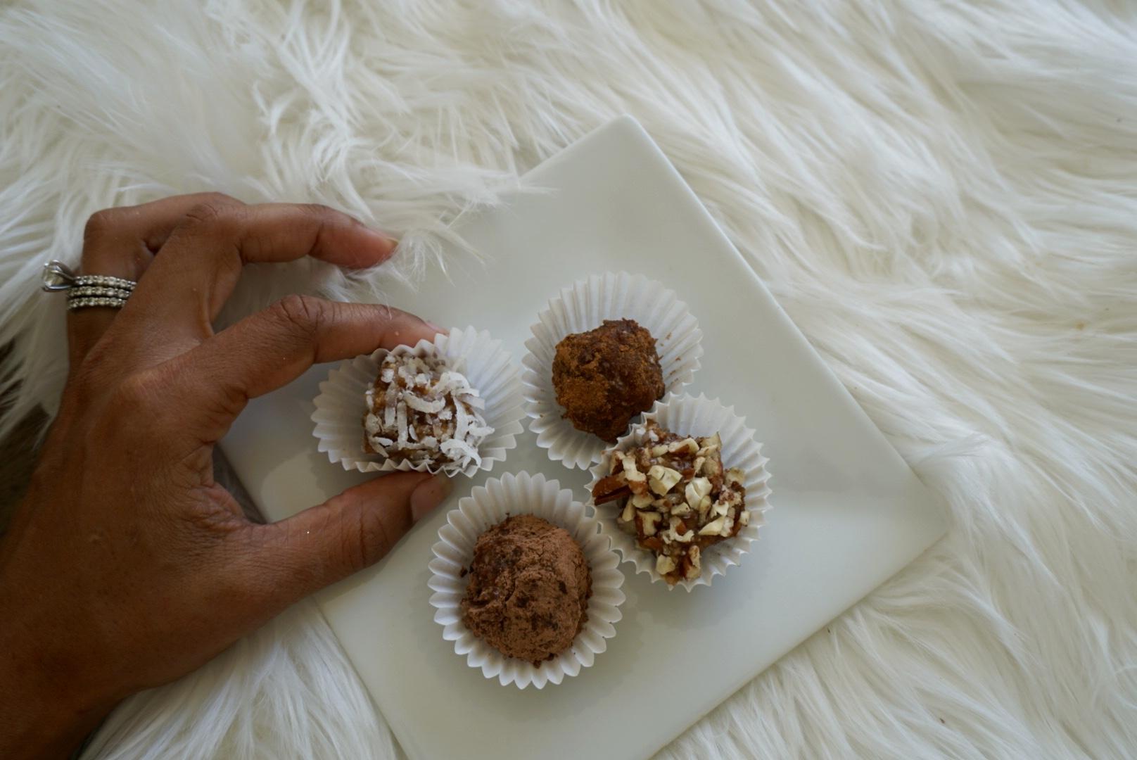 Date Truffles 4 Ways