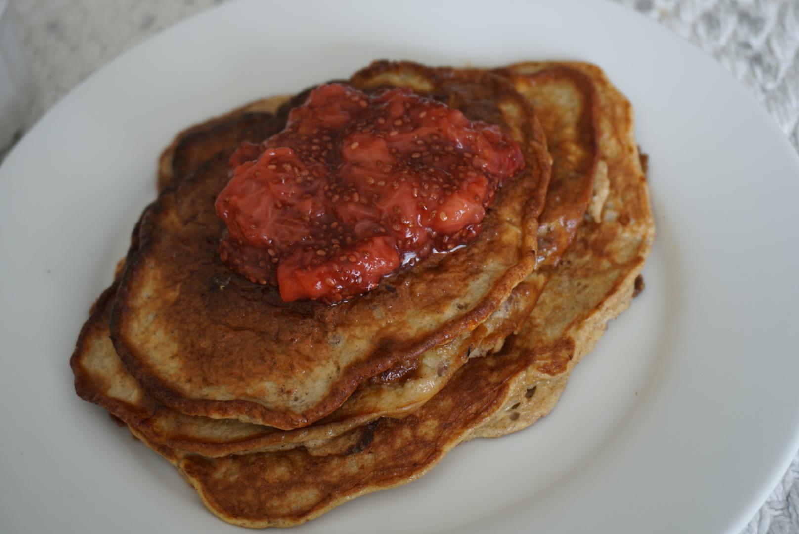 5 Minute Strawberry Chia Jam