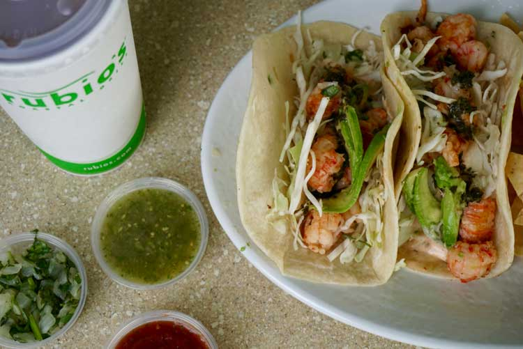 Taco Tuesday With Rubio S Coastal Grill Taylor Walker Fit